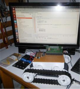 Rover Projekt mit EVA Board V1.0